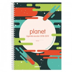 Agenda espiral primaria Additio Planet