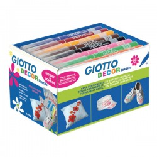 Schoolpack rotuladores Giotto tela colores surtidos