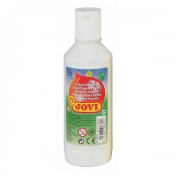 Botella tempera liquida Jovi 500ml blanco