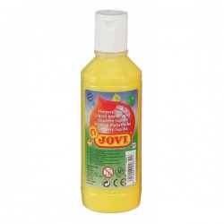 Botella tempera liquida Jovi 500ml amarillo