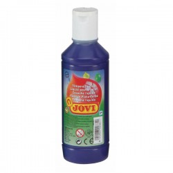 Botella tempera liquida Jovi 500ml azul ultra