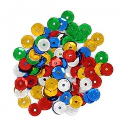 Bolsa 20g lentejuelas Fixo kids circulos colores surtidos