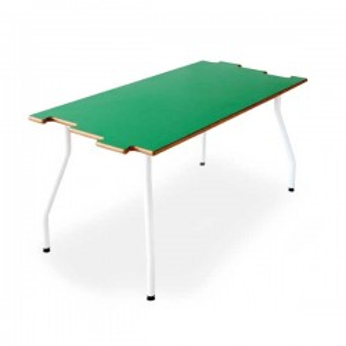 Mesa infantil Tagar 120x60x60cm verde