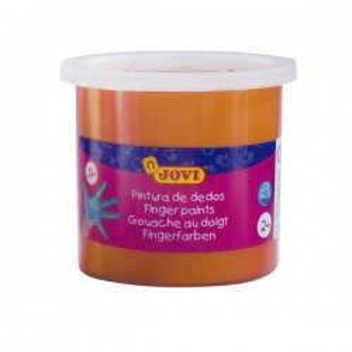 Bote pintura a dedo jovi 125ml naranja