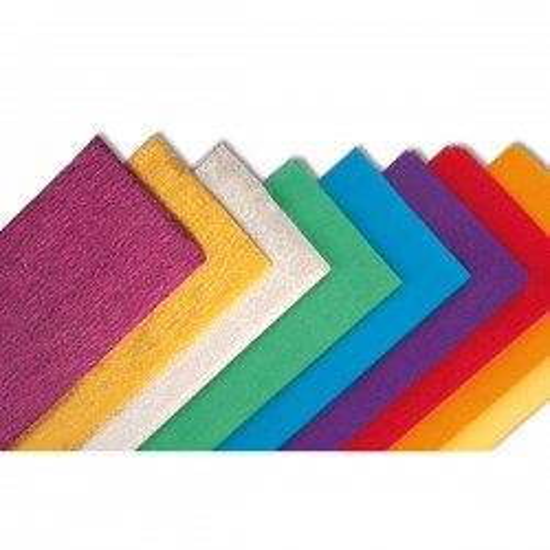 Rollo de papel crespón Sadipal 0,5 x 2,5 m. color violeta
