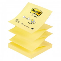 Notas autoadhesivas Post-it Z-Notes 76 x 76 mm