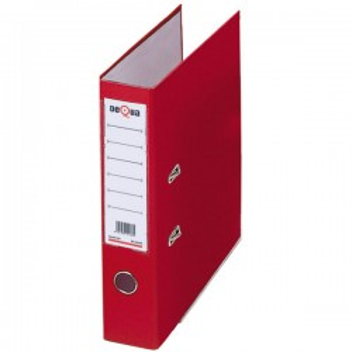 Archivador de palanca Dequa Forrado Lomo 70mm. Con rado Folio Rojo