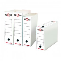 Caja archivo definitivo Dequa Folio prolongado Pack 50u.