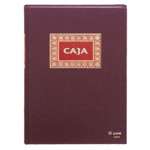 Libro de caja tamaño folio
