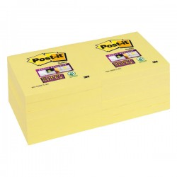 Notas autoadhesivas Post-it Super Sticky 76 x 76 mm