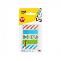 Dispensador Post-it® Index marcadores pequeños decorados 1