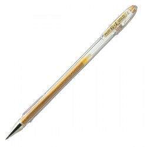 Bolígrafo gel G-1 Metallic Oro