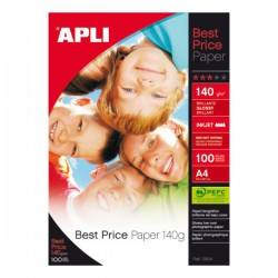 Pack 100h papel fotográfico Best Price Paper 140gr A4