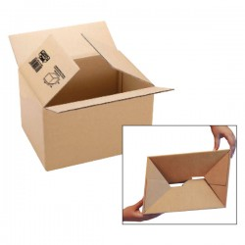 Cajas de embalaje canal 3 mm automontable 427x304x250mm