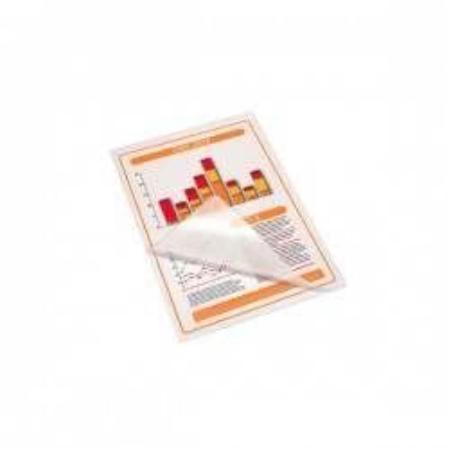 Caja 100 fundas plastificación 54x86 mm 175mic