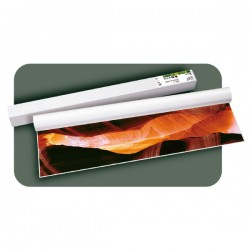 Rollo papel plotter estucado Mate 140gr 91,4cmx30m