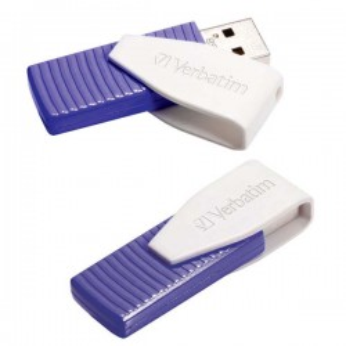 "Memoria USB 2.0 Verbatim Store""n""Go Swivel 16GB Rojo"