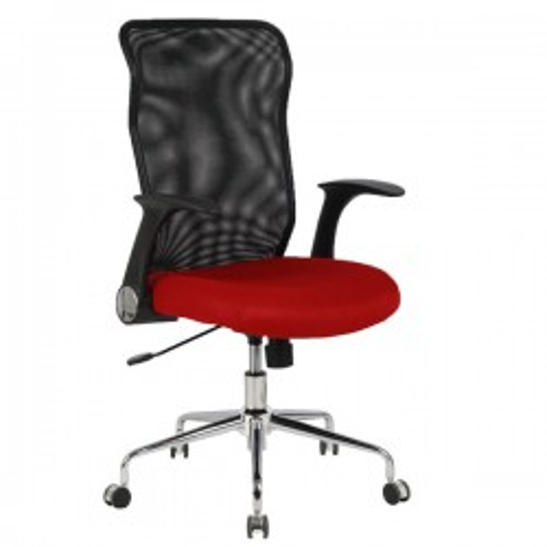 Silla de oficina Maroon Rojo