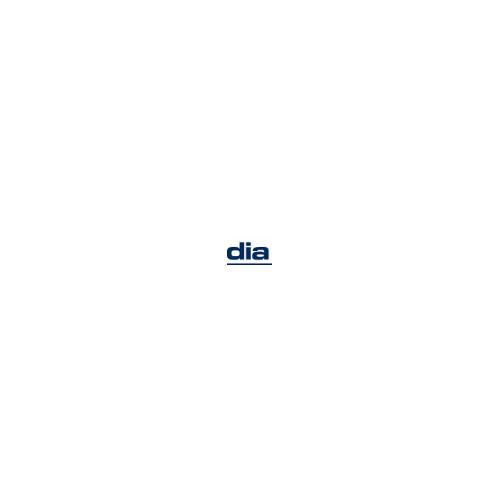 Papelera metálica de rejilla 24x34cm 18 litros cromada