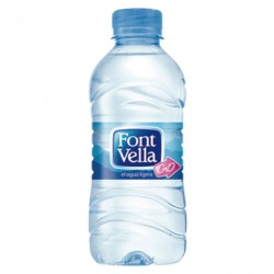 Botella agua Font Vella 330ml. Pack 35 botellas