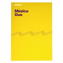 Cuaderno música Duo Additio A4