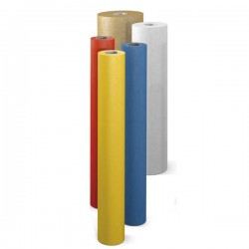 Bobina 10kg papel kraft verjurado Sadipal 65g amarillo