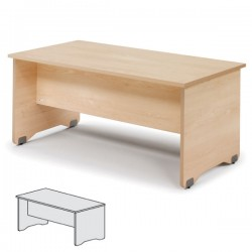 Mesa rectangular Serie Work 200x80x72cm. Haya/Haya