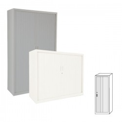 Armario Gapsa puertas de persiana. 60x181x45cm. Distintos colores de madera a elegir
