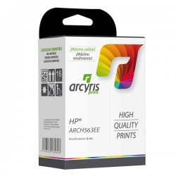 Cartucho Ink-jet Arcyris alternativo HP C8765EE Nº 338 Negro